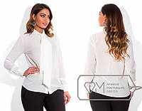 """Стильная блузка для пышных дам """" Классика """" Dress Code"""