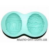 Молд силиконовый Пасхальное яйцо 3D