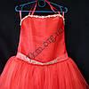Платье нарядное бальное детское 6-7 лет Царевна коррал Украина оптом., фото 2