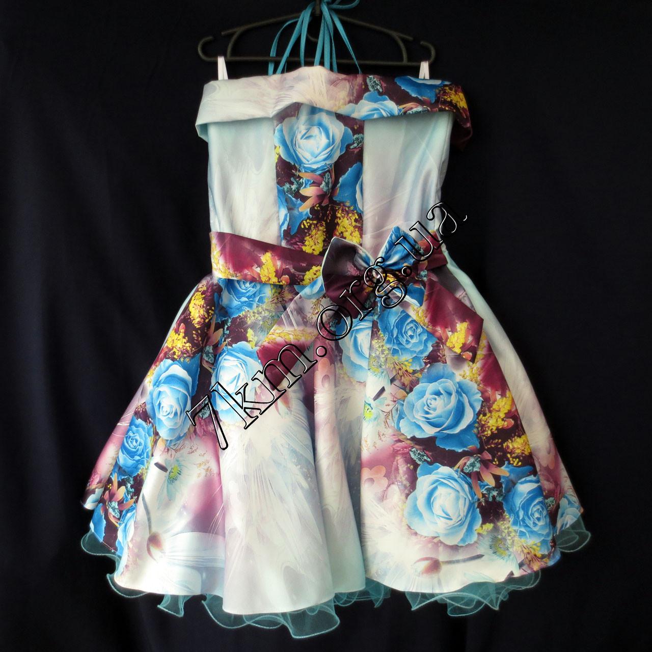 Платье нарядное бальное детское 10 лет Королева Украина оптом.