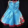 Платье нарядное бальное детское 10 лет Королева Украина оптом., фото 3
