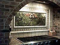 Керамическая фото плитка для кухни