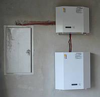 Встановлені нами стабілізатори НСН-5000 Optimum і НСН-7500 Optimum, с Сокільники.