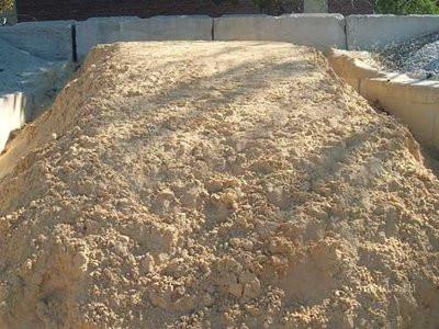 Сеяный беляевский песок строительный