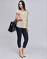 Модная женская блуза из креп-шифона