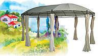 Красивый шатер для мероприятий: полиэстер с ПВХ покрытием, 3,5*5,3*2,65 м