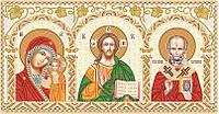 Набор для вышивания бисером икона Домашний иконостас НИК-3001