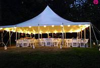Тенты и шатры, шатровые конструкции