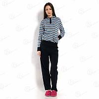"""Разноцветная пижама женская интерлок с капюшоном """"Dalmina"""" SKL-DLMN53010"""
