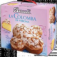 Пасхальные куличи итальянские Bauli La Colomba Classica с цукатами и цельным миндалем 750 г.