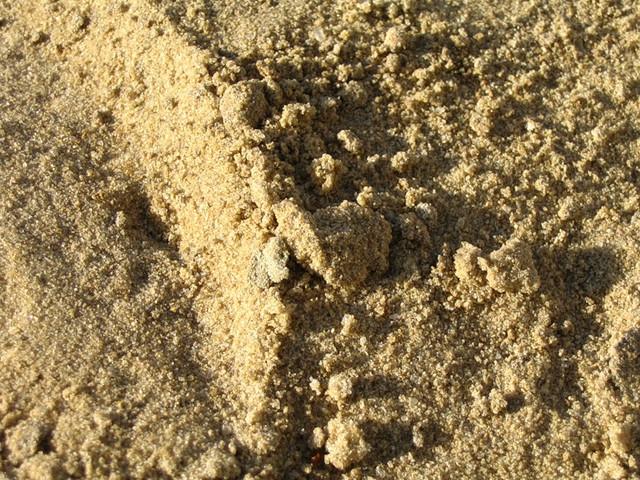 Песок строительный для засыпки карьерный Ивановский