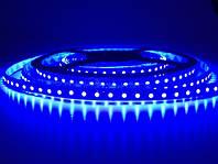 Светодиодная подсветка 3528\120 led синий герметичная