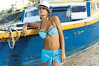 Раздельный купальник в морском стиле