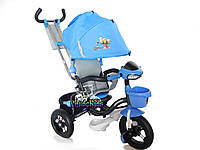 Детский трехколесный велосипед Crosser Миньоны с надувными колесами