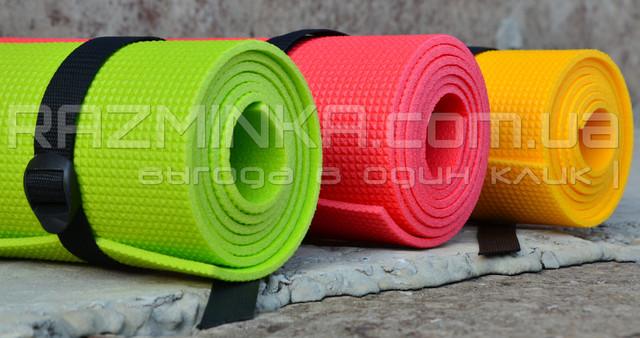коврик для йоги LIME, коврик для йоги, йога коврик, йога мат, коврик для фитнеса