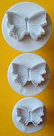 Плунжер  Бабочки маленькие 3шт (кнопка)