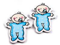 Наклейка BABY_blue