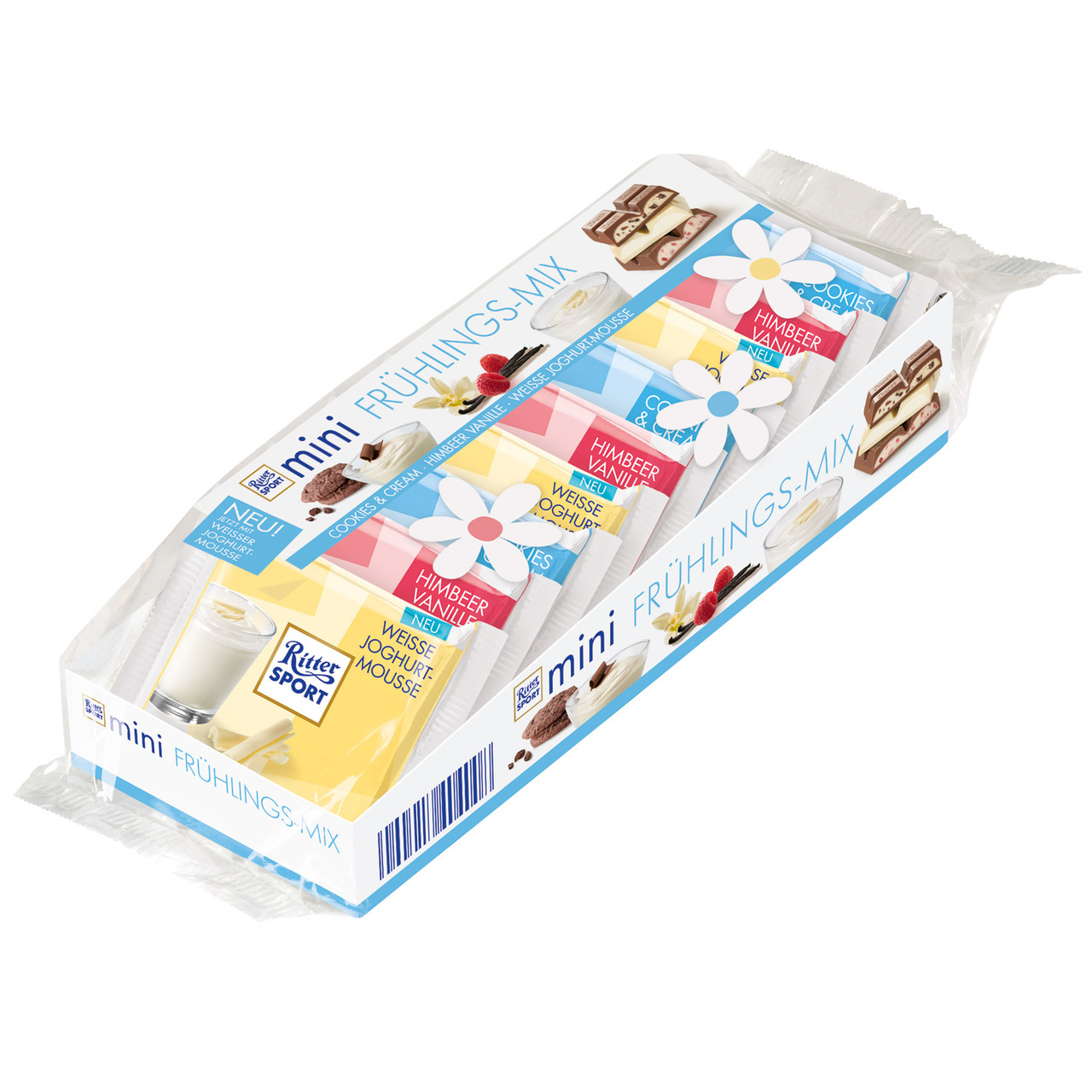 Набор мини-шоколадок Ritter Sport Mini Fruhlings-mix, 150г