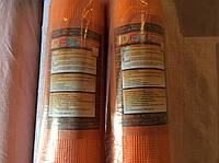 """Сетка штукатурная фасадная """"IDEAL"""" оранжевая 160 гр/м2 ,50м"""