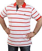Футболка Ralph Lauren-b120 красная оптом