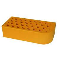 Кирпич керамический лицевой фасонный ЦФ-2 желтый