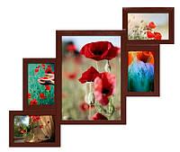 "Мультирамка ""Красное дерево"" (5 фото) ДЕРЕВО"