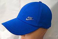Бейсболка трикотажная мужская  синий