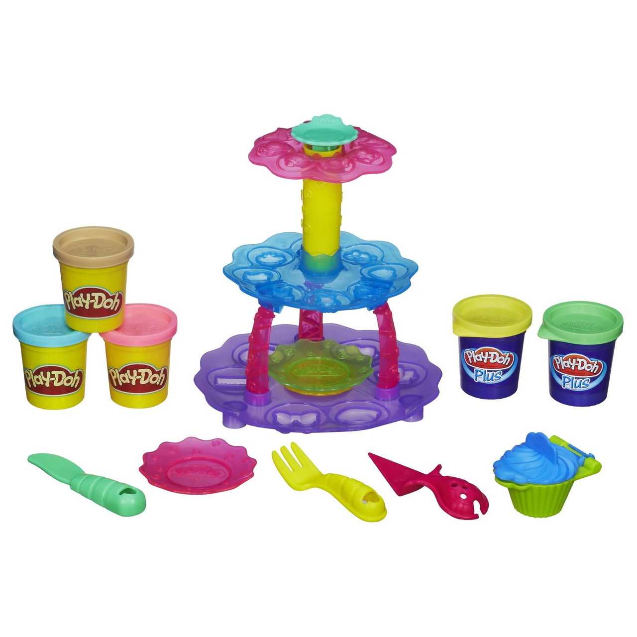 PLAY-DOH набор Башня из кексов  Sweet Shoppe Cupcake Tower