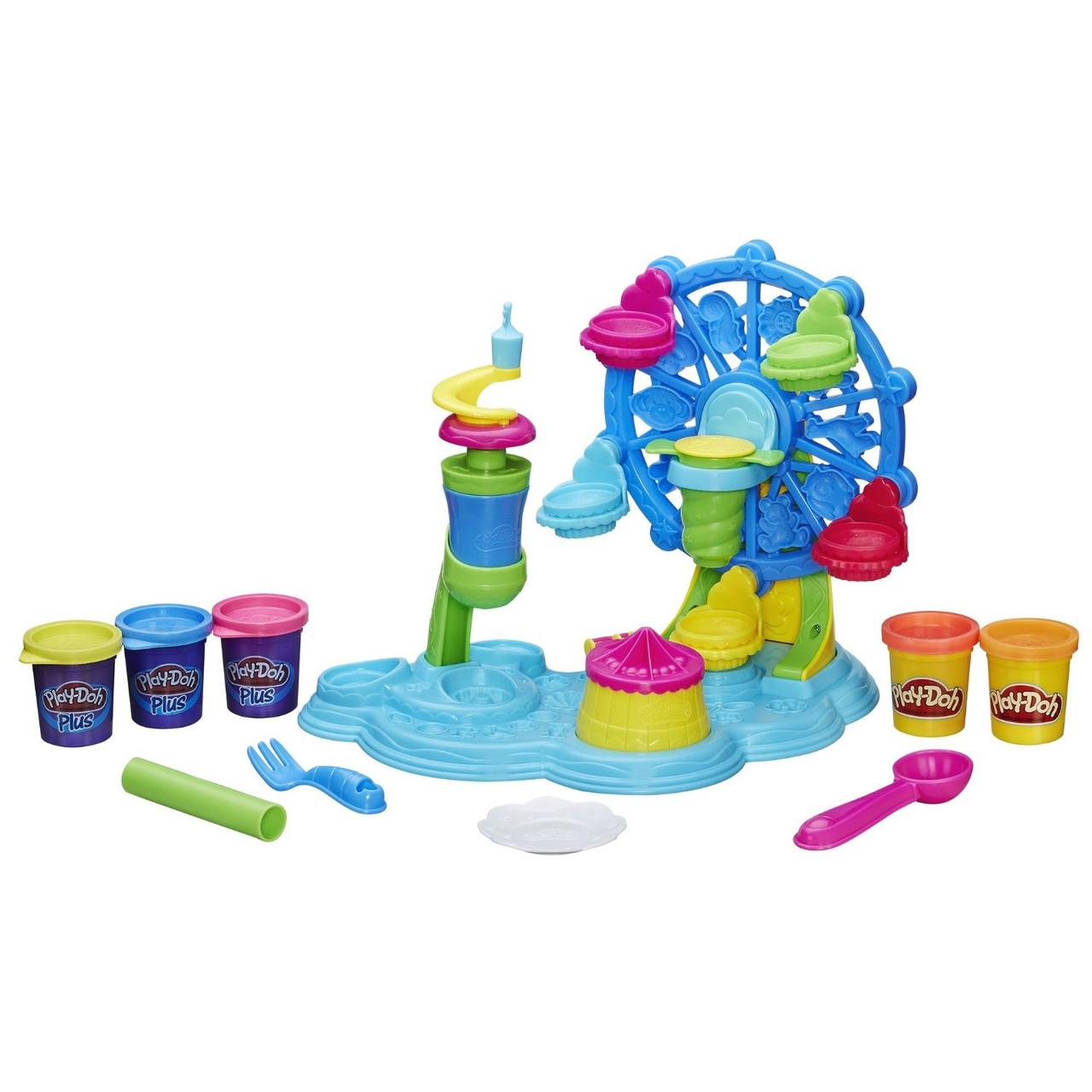 Play-Doh игровой набор с пластилином набор Карнавал сладостей Cupcake Celebration Playset