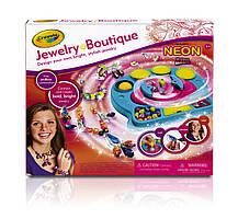 Crayola набор для создания украшений Jewelry Boutique Neon
