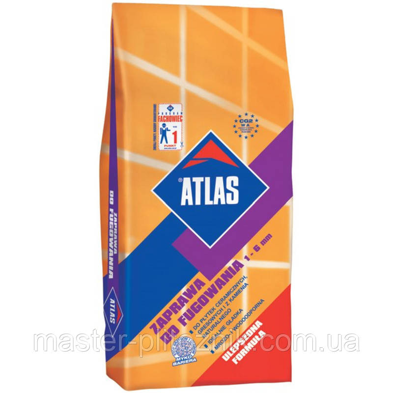 Затирка Атлас темно-серый (036)