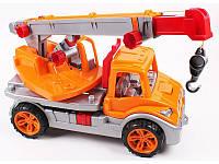 Игрушка машинка Автокран 3895 Технок