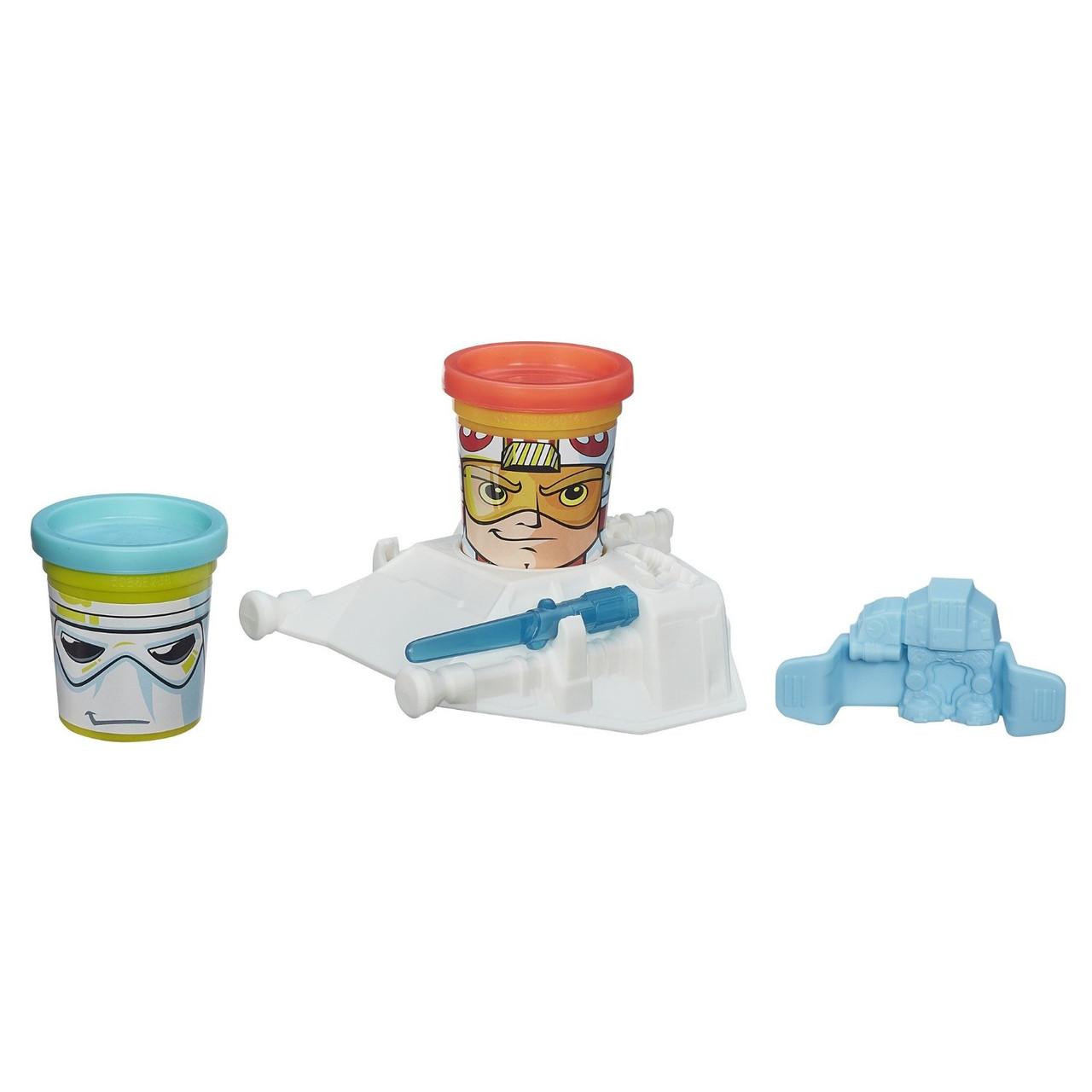 Игровой набор Hasbro Play-Doh Герои Star Wars Luke Skywalker & Snowtrooper