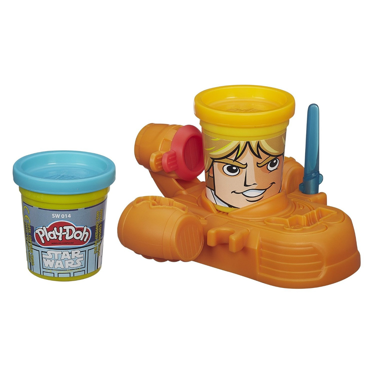 Игровой набор Hasbro Play-Doh Герои Star Wars Luke Skywalker