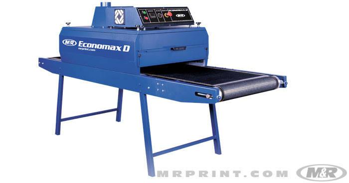 Туннельные сушка для шелкотрафаретной печати M&R Economax D Ширина 61см. 2 панели, фото 2
