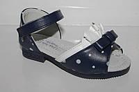 Летняя детская обувь. Босоножки на девочек от производителя Солнце W667A (22-26)