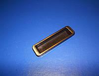 Ручка врезная маленькая бронза, фото 1