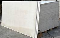Магнезитовая плита 8 мм размер листа 1200х2280 мм. УСИЛЕННАЯ 1100 кг/м3