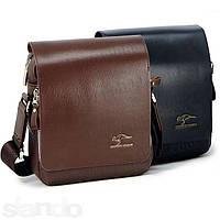 Мужская кожаная сумка Kangaroo Kingdom