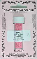 Краска сухая Sugarflair Розовая