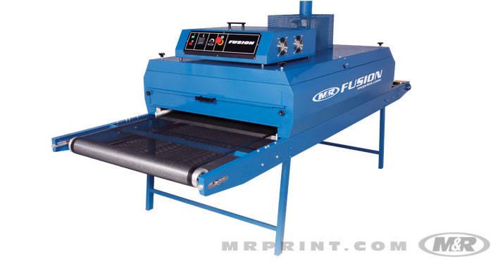 Туннельные сушка для шелкотрафаретной печати M&R FUSION 48/10-6 Ширина 122см. , фото 2