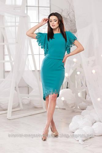 Женское платье креп дайвинг