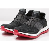 Кроссовки мужские adidas Pure Boost ZG Prime черные с красным
