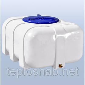 Пластиковый бак (емкость квадратная) RK 200 О/овал однослойная