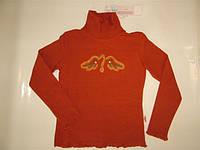 Блузка оранжевая Pleyful (р158)