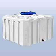 Пластиковый бак (емкость квадратная) RK 500 К/куб однослойная