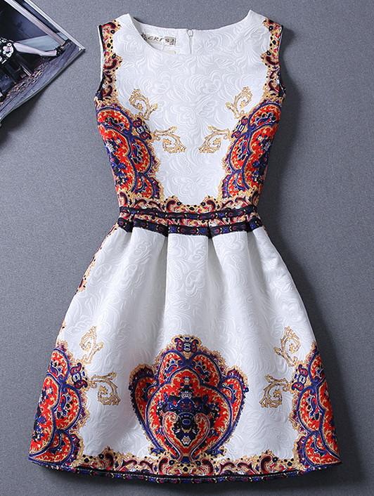 Платье с принтом, фото 1