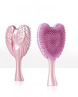 Расческа-ангел компактная розовая Tangle Cherub Pink