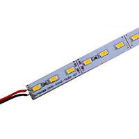 Светодиодная линейка DX 5630-72 led WW 24W 3000K, 12В, IP20 теплый белый