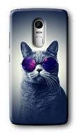Чехол для Lenovo Vibe X3 (Кот в очках)